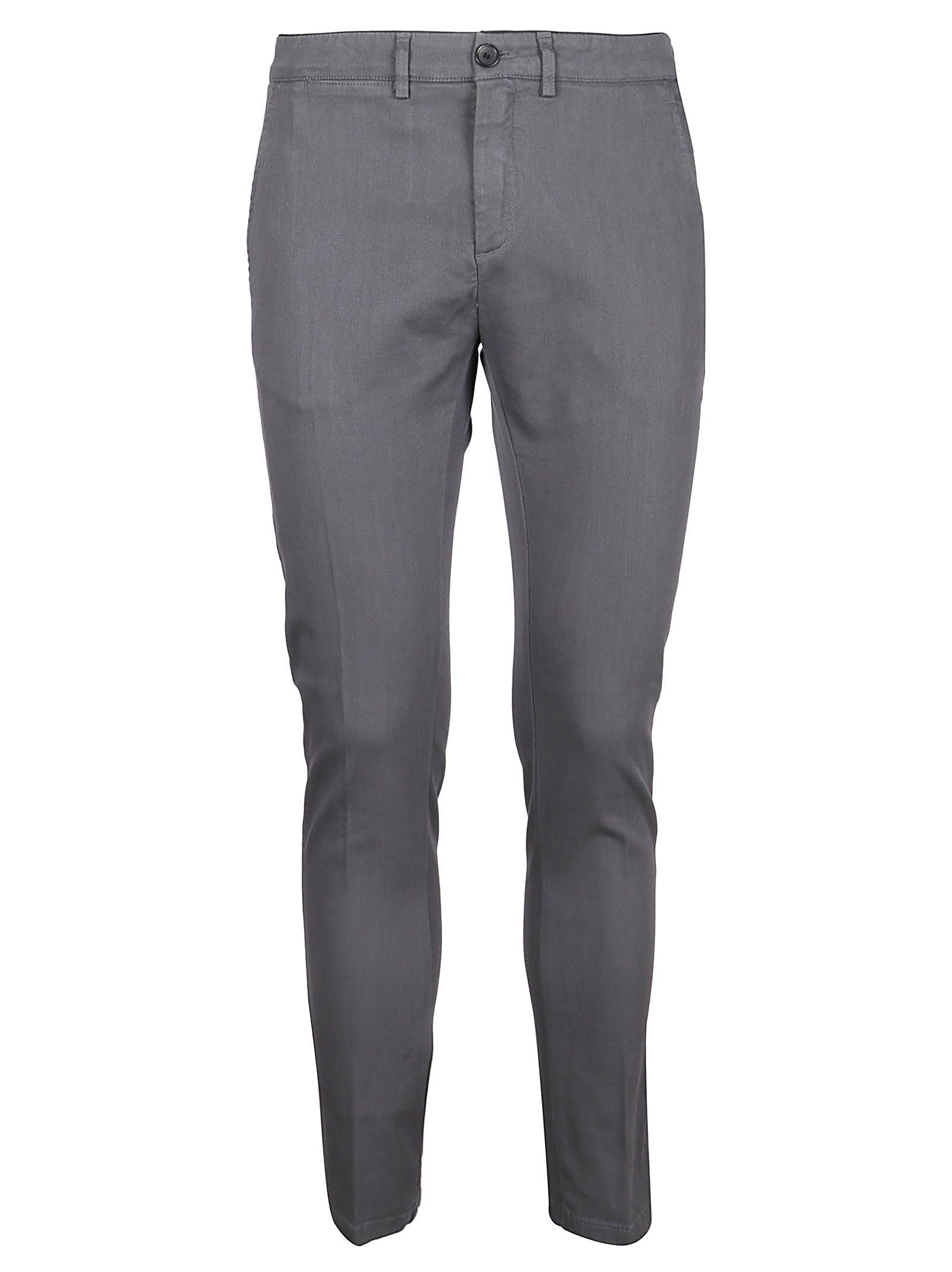 DEPARTMENT FIVE MEN'S U19P02T1904VE130 GREY COTTON PANTS