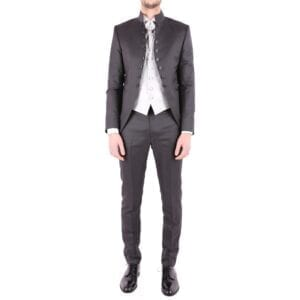 CARLO PIGNATELLI MEN'S 36JX029C106611596 GREY ACETATE SUIT