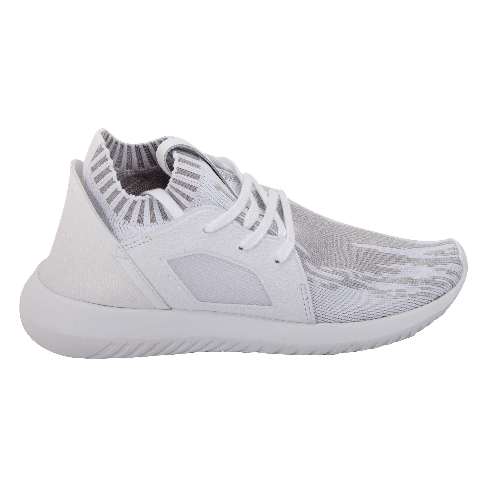 ADIDAS WOMEN'S BB5142 WHITE Nylon SNEAKERS