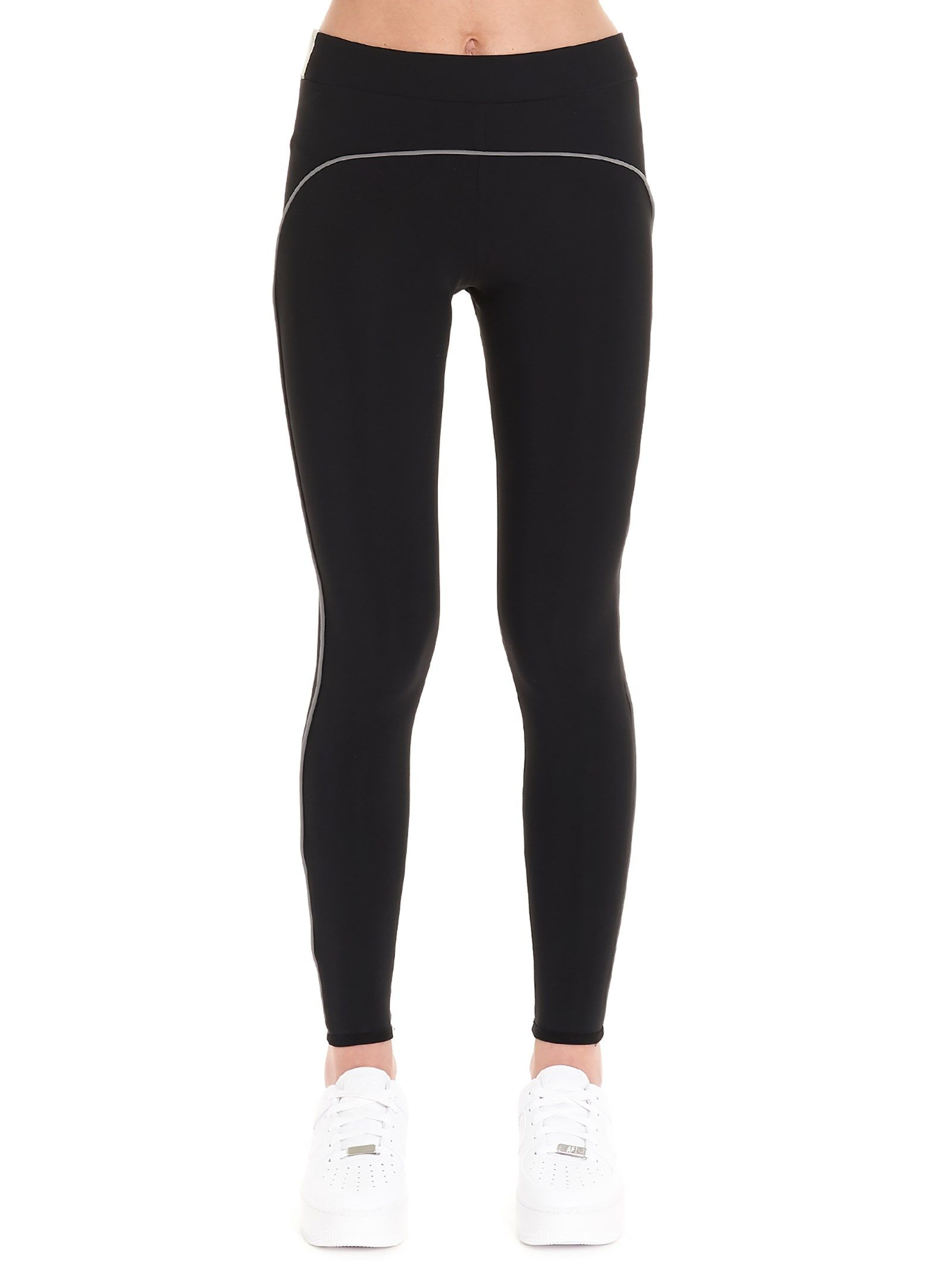 A-COLD-WALL* WOMEN'S CW9SWT03ACJE063999 BLACK POLYESTER LEGGINGS