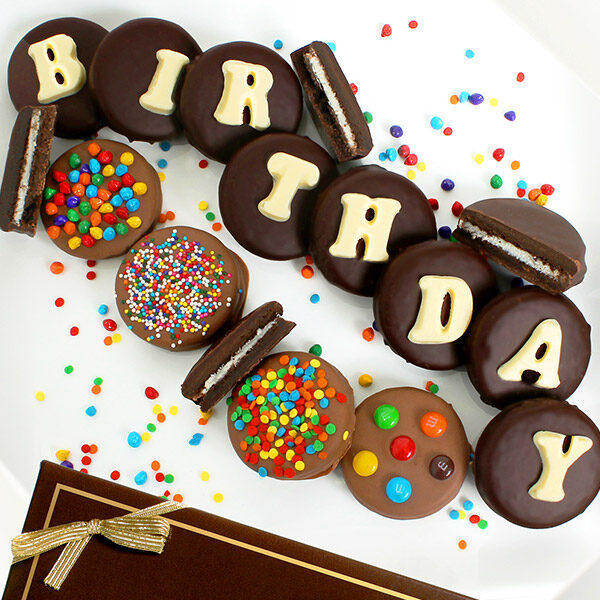 Birthday Chocolate Covered Oreo® Cookies