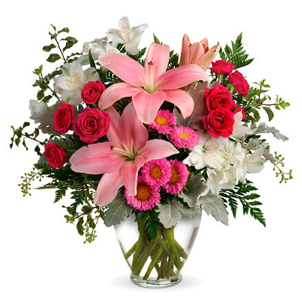 Blush Rush Bouquet #TV555