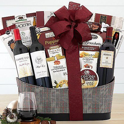 Napa Valley Cabernet Trio Premium Wine Basket